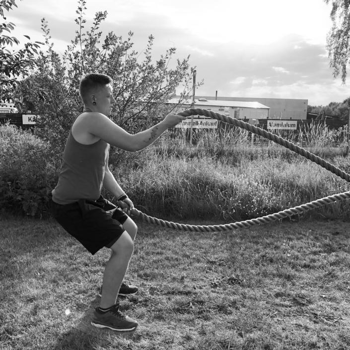 Outdoor Bootcamp Training Seile
