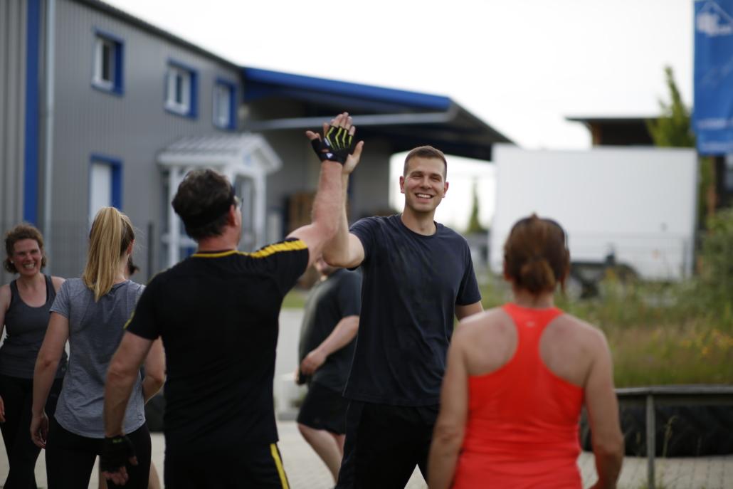 Outdoor Bootcamp Personal Trainer Jan Kammann